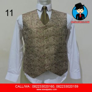 11. Rompi + Dasi + Celana